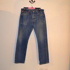 Levi's 501 jeans size 34x33